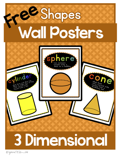 FREE 3D shape Posters