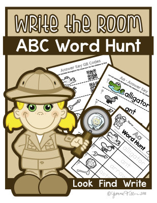Write the Room - Alphabet A-Z