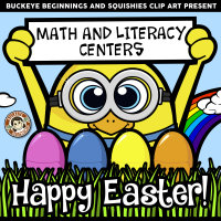 Spring Plastic Eggs Math And Literacy Centers